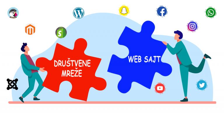 Društvene mreže web sajt